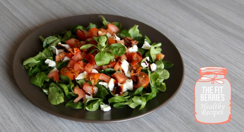 Lunch «Salade de Blé à L'Italienne»: une recette facile, rapide etsaine!