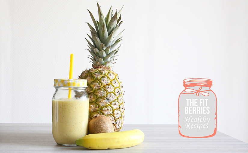 #SunnySmoothie: le plein de vitamines avec un smoothie tropical!