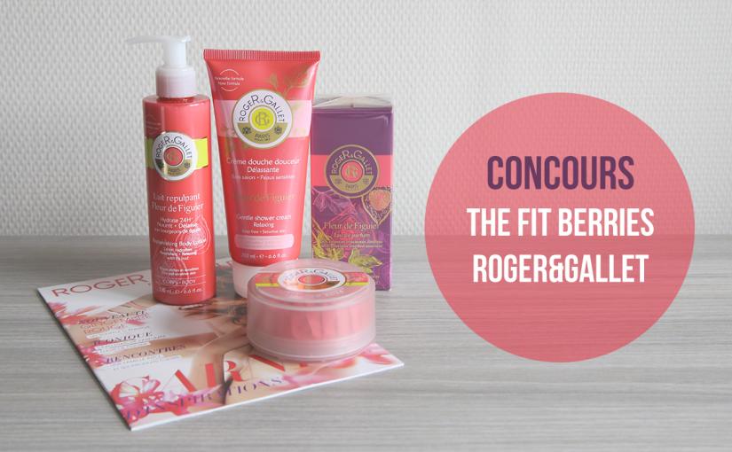 #Concours: célébrez votre douche post-workout avec la gamme Fleur de Figuier Roger&Gallet!